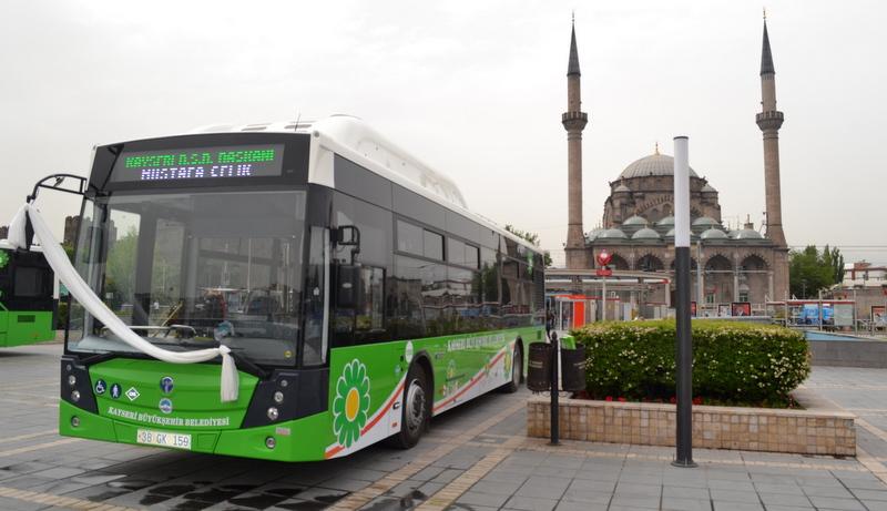 Kayseri'ye 30 adet CNG'li Avenue