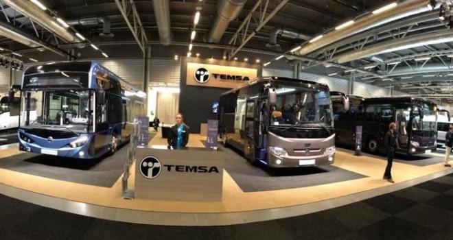 TEMSA 3 aracıyla İsveç'teki Persontrafik Fuarı'nda