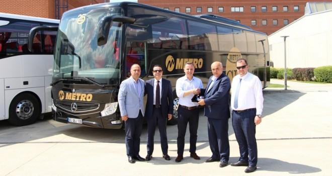 Metro Turizm Konya, filosunu Tourismo otobüslerle güçlendirdi
