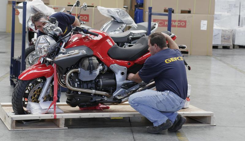 50 bin motosikletin lojistiğini yaptı