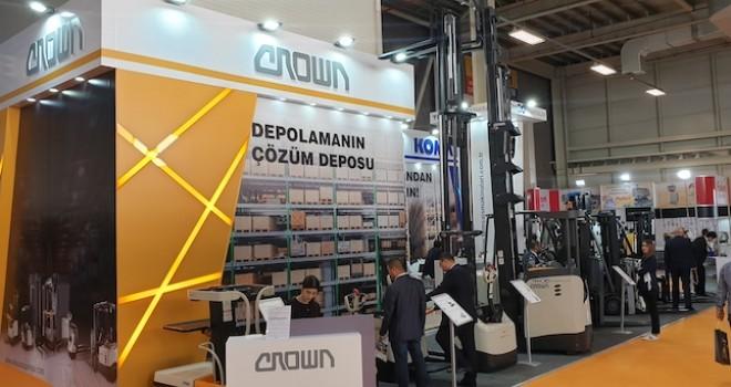 Temsa İş Makinaları, Avrasya Ambalaj Fuarı'nda  Crown depo ekipmanlarını tanıttı