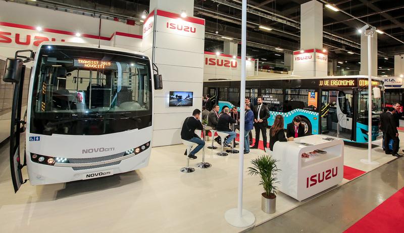 Anadolu Isuzu, Toplu Taşıma Otobüsleriyle Transist Fuarı'nda yerini aldı