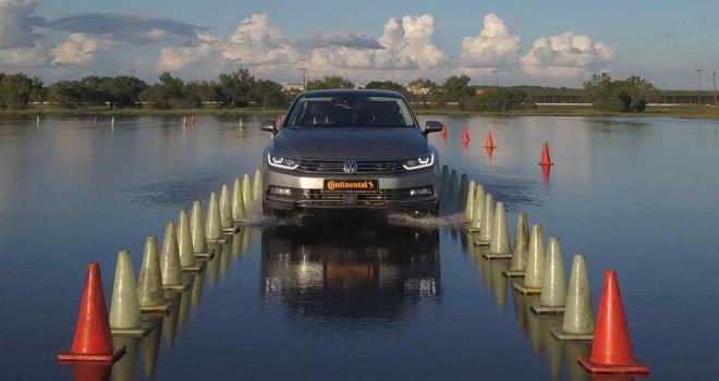 Continental, sürücüsüz test aracı ile lastiklerini test ediyor