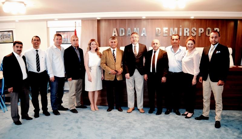 Temsa, Adana Demirspor'a desteğini gelecek yılda sürdürecek