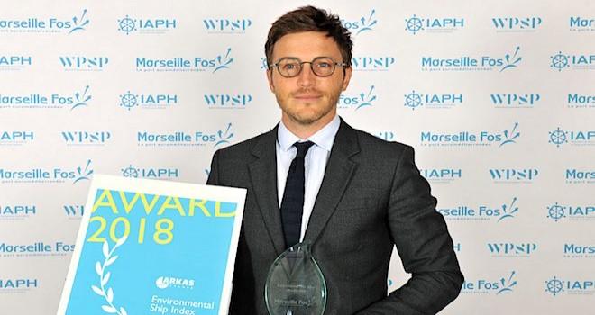 Arkas Line'a Çevresel Gemi Endeksi Ödülü