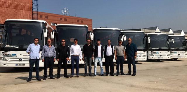 2 firmaya 7 adet Tourismo otobüs teslim etti