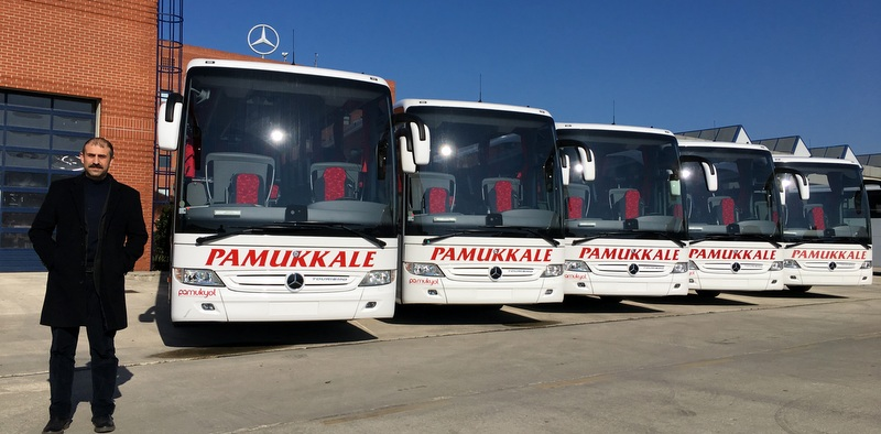 20 günde 21 adet otobüs teslim etti