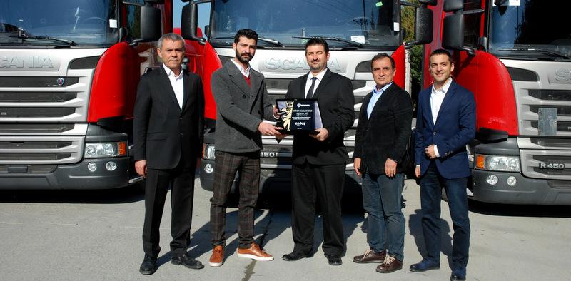 Filosuna 60 adet Scania R 450 çekici kattı