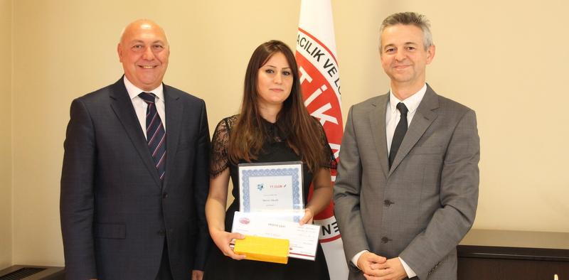2017 Yılının Genç Forwarder Adayını Ödüllendirdi