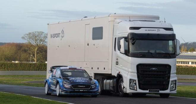 Ford Trucks F-MAX ile 2019 Dünya Şampiyonası'na gidiyor