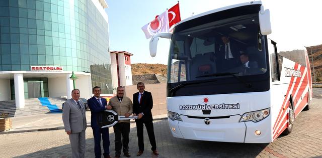 Bozok ve İnönü Üniversitesi Safir Plus otobüsü tercih etti