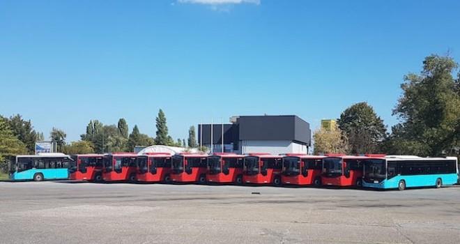 Otokar, Sırbistan'a 10 adet Kent otobüs ihraç etti