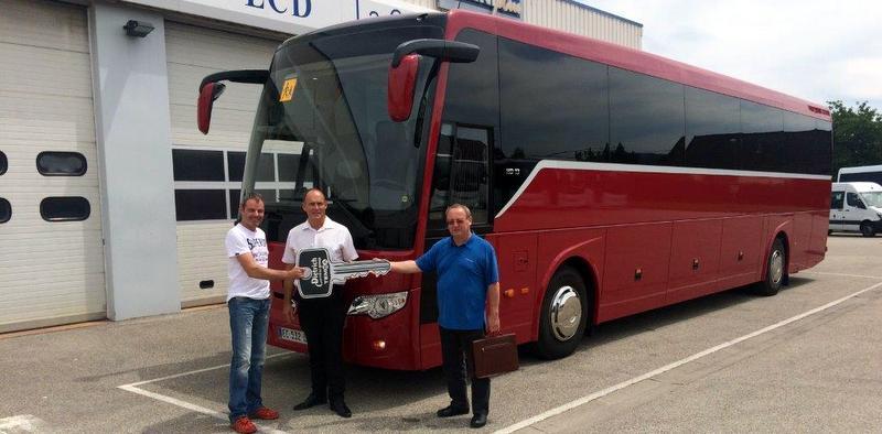 22 otobüs daha teslim etti, Fransa'da 5 binli adetlere koşuyor