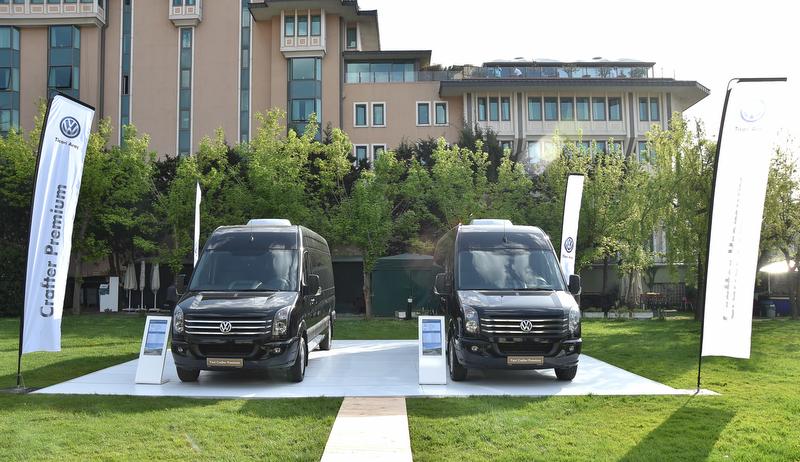 FOTO HABER - İşte Yeni Crafter Premium ve Yeni Caravelle 9+1