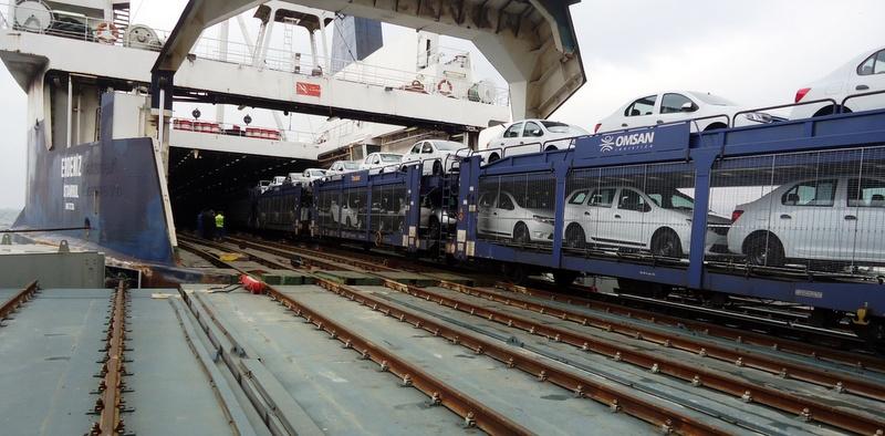 25 bin Dacia otomobili taşıyor