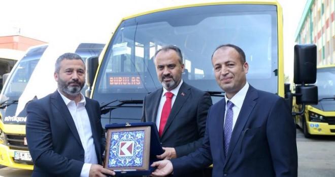 Karsan'dan Bursa'ya 75 Adet Jest Minibüs