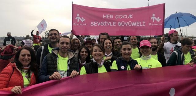 26 Sertrans Logistics gönüllüsü Koruncuk Vakfı yararına koştu