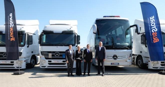 10 yılda 20 bin adet 2. el kamyon ve otobüs sattı