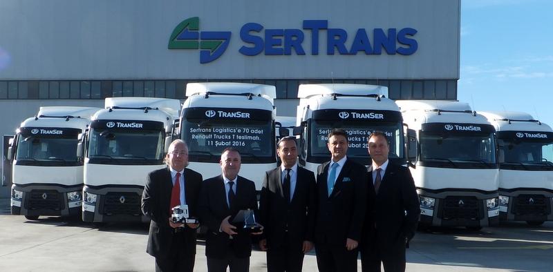 27 yıllık lojistik devi filosunu 70 adet Renault Trucks çekiciyle güçlendirdi