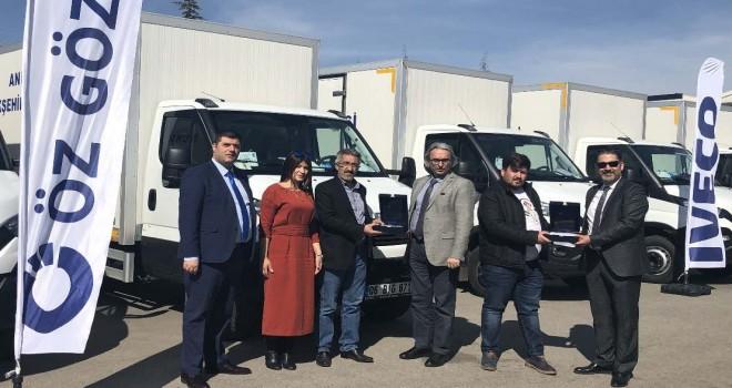 Karayel Nakliyat'a 17 adet Daily 7 ton kamyon