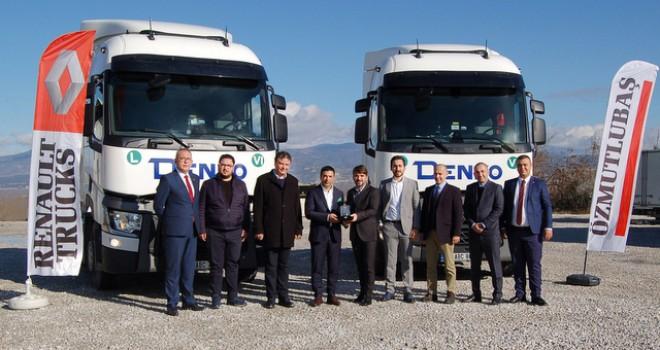 300''den fazla firmaya lojistik hizmeti veren DENKO, filosunu Renault Trucks T 460 çekiciler ile güçlendirdi
