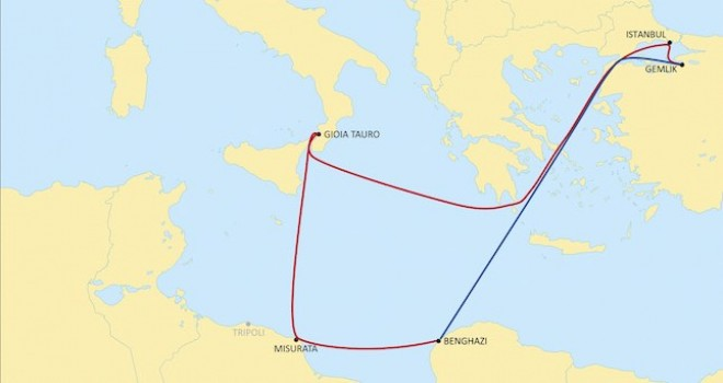 MSC, Türkiye-Libya arasında yeni servis başlattı