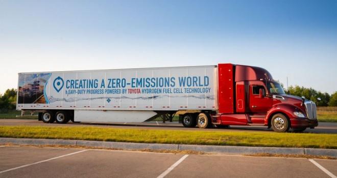 PACCAR, CES 2019'da İnovatif Elektrikli ve Hidrojen Yakıt Pilli Kamyonlarını Sergiliyor