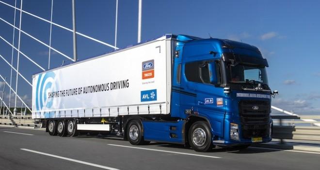 Ford Otosan ve AVL'den lojistik merkezler arasında tam otonom taşımacılık için büyük adım