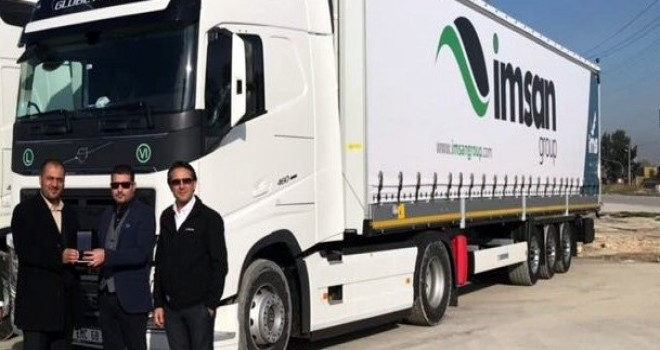 İmsan Group'a 5 adet Volvo Trucks
