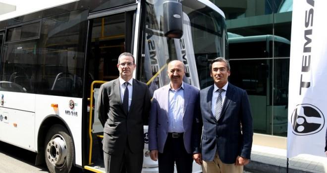 Temsa, Marmara Belediyeler Birliği Genel Kurulu'nda MD9 LE model aracını sergiledi