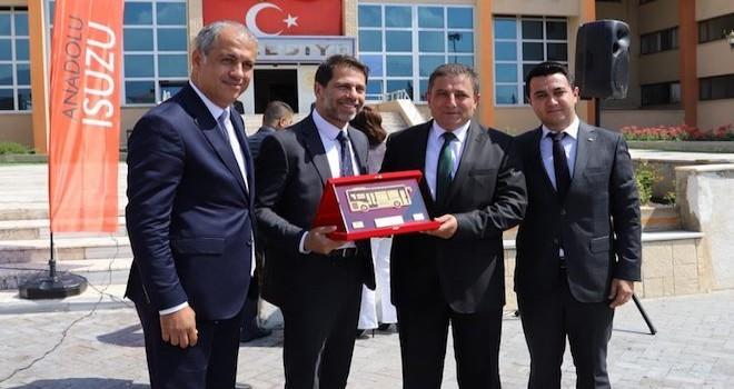 Anadolu Isuzu'dan Erzincan'a 10 adet Novo Citi