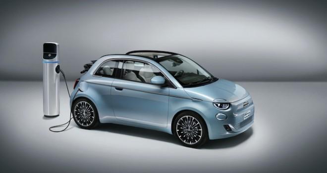 Elektrikli Fiat 500 tanıtıldı