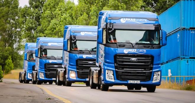 Arkas Lojistik'e 55 adet Ford Trucks