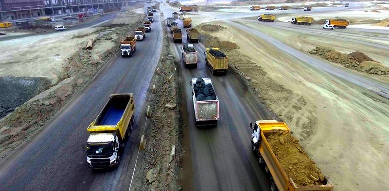 3. havalimanında çalışan 3 binden fazla kamyonun lastiğini tedarik ediyor
