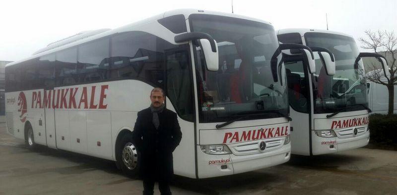 3 Tourismo, 4 Conecto otobüs teslim etti