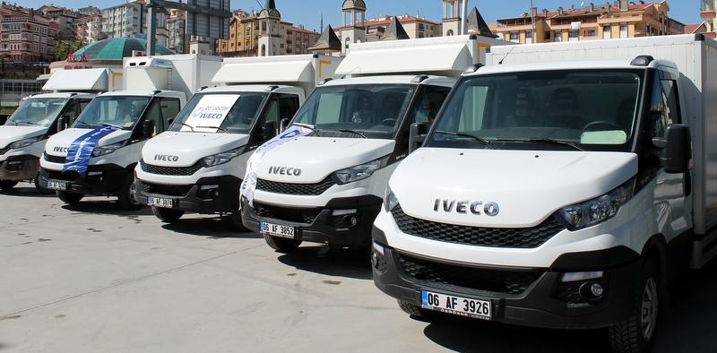 30 adet Daily aldı, filosunun tamamını Iveco araçlarla yeniledi