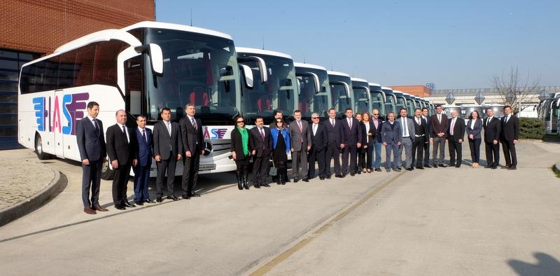 30 adet otobüs aldı, gideceği şehir sayısını 60'a yükseltiyor