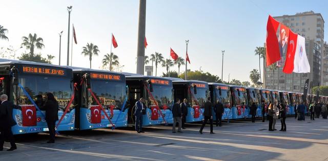 30 adet otobüs teslimatı ile 2018 yılına giriş yaptı