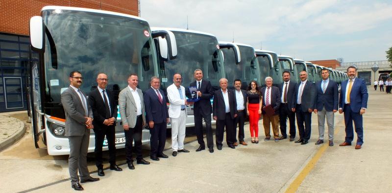30 adet Setra aldı, 1 milyon yolcu taşımayı hedefliyor