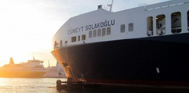 30 metre uzatılan Ro-Ro gemisi sefere başlıyor!