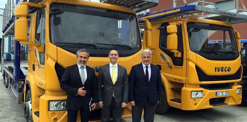 300 adet öz mal araçtan oluşan dev filosunu Iveco otomobil taşıyıcılar ile güçlendirdi