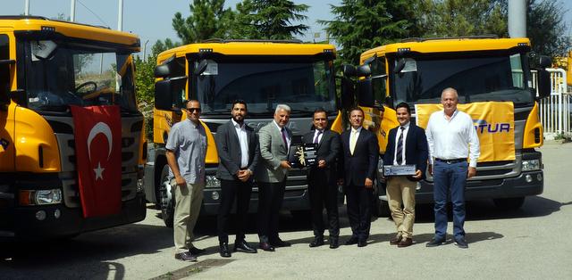 300'den fazla araç bulunan filosunu Scania çekiciler ile güçlendirdi