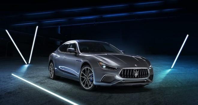 Maserati'nin İlk Elektrikli Modeli Ghibli Hybrid Tanıtıldı
