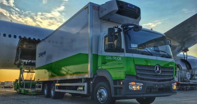Türkiye'de yer hizmetlerinde bir ilke imza attı, filosuna frigorifik araç ekledi