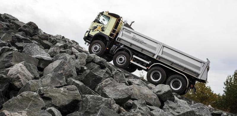 325 ton ağırlıkla bile sürüşe başlayabiliyorsunuz!