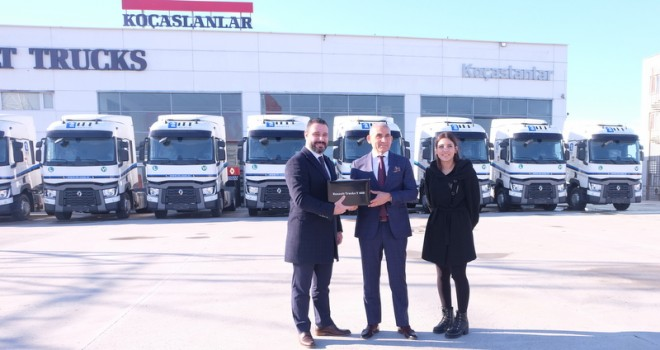 İTT Logistics filosuna 9 adet Renault Trucks kattı