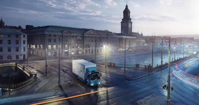 Volvo Trucks ilk elektrikli kamyonunu tanıttı