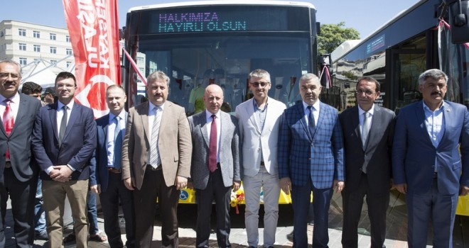 Kayseri'ye 10 adet Körüklü CNG Conecto