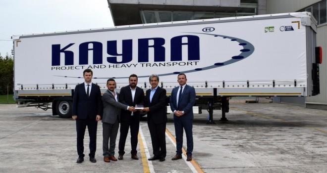 Kayra Uluslararası Nakliyat filosuna 8 adet Tırsan marka treyler kattı