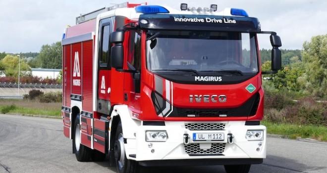 IVECO Magirus, dünyanın ilk gazla çalışan yangın söndürme aracını tanıttı